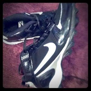 Men's Football Nike Shark Cleats Size 9.5